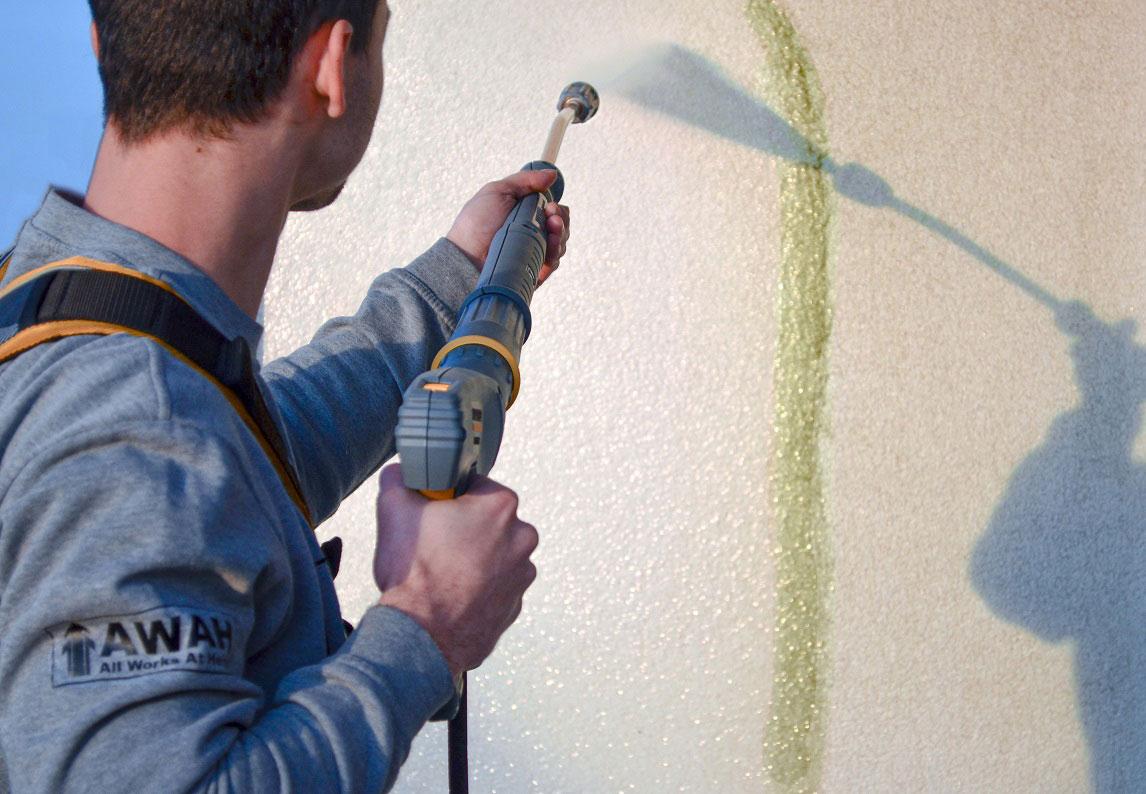 čistenie fasády AWAH
